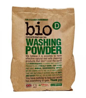 Bio-D Koncentrēts veļas mazgāšanas pulveris 1 kg