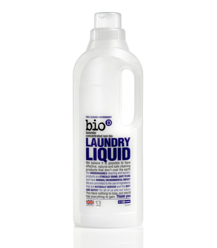 """Bio-D Koncentrēts šķidrais veļas mazgāšanas līdzeklis """"Lavanda"""" 1 L"""