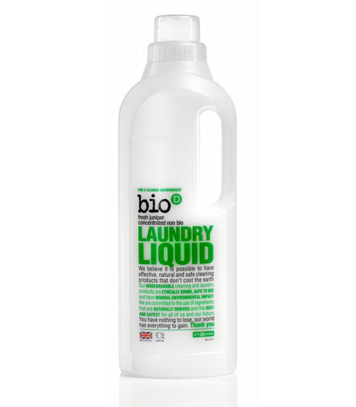 """Bio-D Koncentrēts šķidrais veļas mazgāšanas līdzeklis """"Kadiķis"""" 1 L"""
