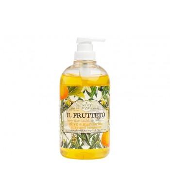 """Nesti Dante šķidrās ziepes Il Frutteto """"Olīveļļa un Mandarīns"""" 500 ml"""