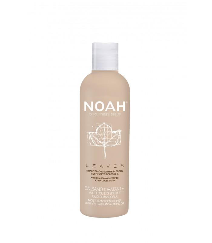 NOAH mitrinošs matu kondicionieris ar efejas lapām un mandeļu eļļu