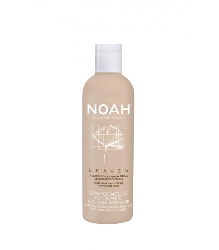 NOAH atjaunojošs un nostiprinošs šampūns ar ginko biloba lapām