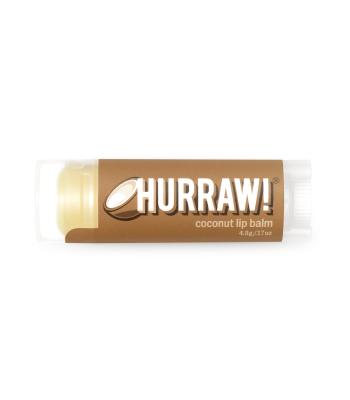 Hurraw! Kokosriekstu lūpu balzāms