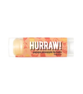 Hurraw! Papaju un ananāsu lūpu balzāms