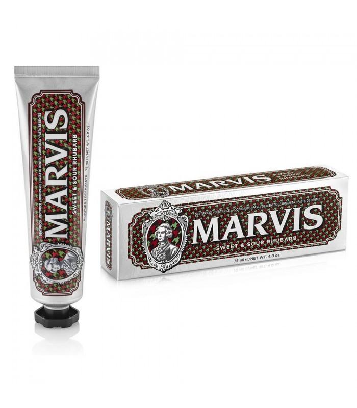 Marvis saldskābā rabarberu un piparmētru zobu pasta 75ml