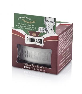 Proraso krēms pirms skūšanās ar šī un kakao sviestu 100 ml