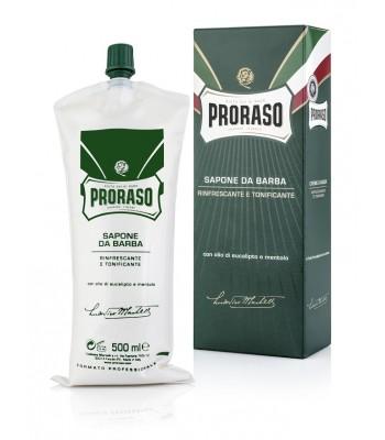 Proraso Skūšanās krēms ar eikalipta eļļu un mentolu 500 ml (professionāls iepakojums)